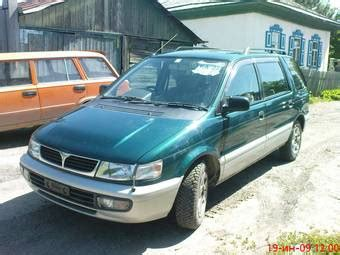 how cars work for dummies 1996 mitsubishi chariot electronic toll collection 1996 mitsubishi chariot pictures 2000cc gasoline ff automatic for sale