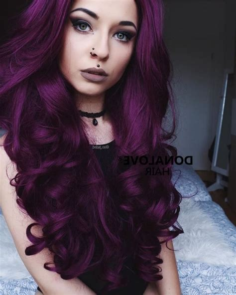 dark purple l shade deep purple hair color www pixshark com images
