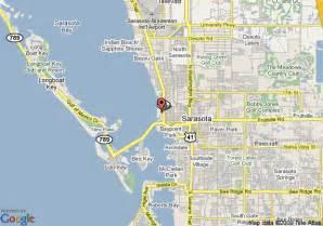 Map Sarasota Florida by Map Of Hotel Indigo Sarasota Sarasota