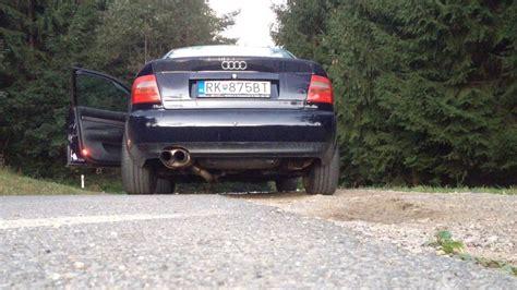 Auspuff Audi A4 B5 by Audi A4 B5 1 8t Exhaust Sound