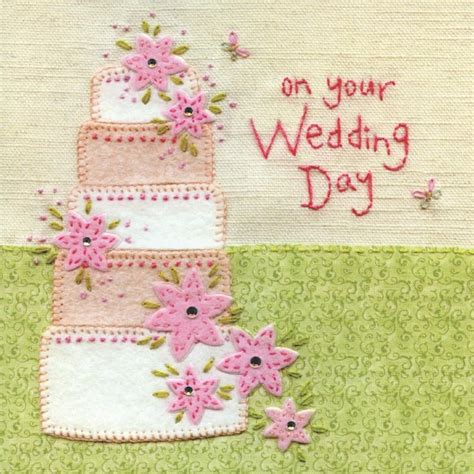 Cake For Wedding Day by Finished Wedding Cake Wedding Day Card Karenza Paperie