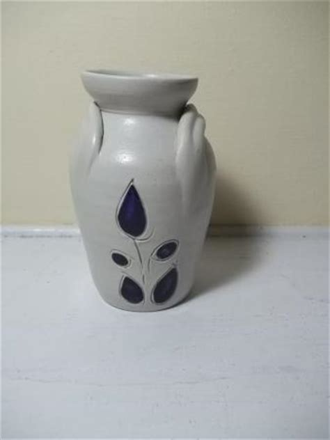 Image Gallery Williamsburg Pottery - vintage williamsburg pottery 5 quot vase salt glaze cobalt