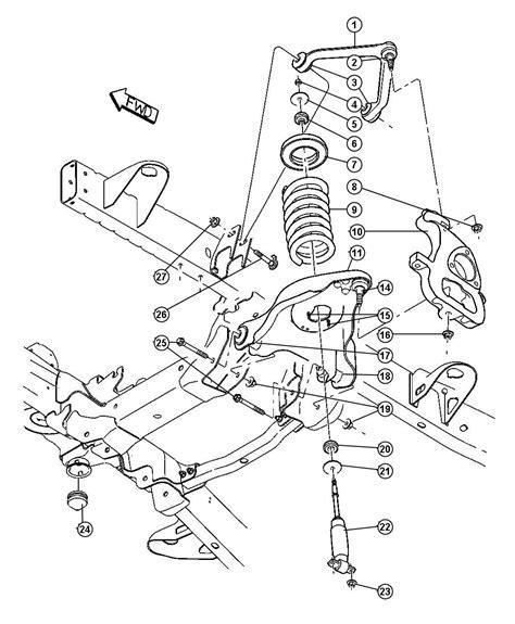dodge ram 2500 front suspension diagram 2004 dodge ram 2500 front suspension diagram car autos