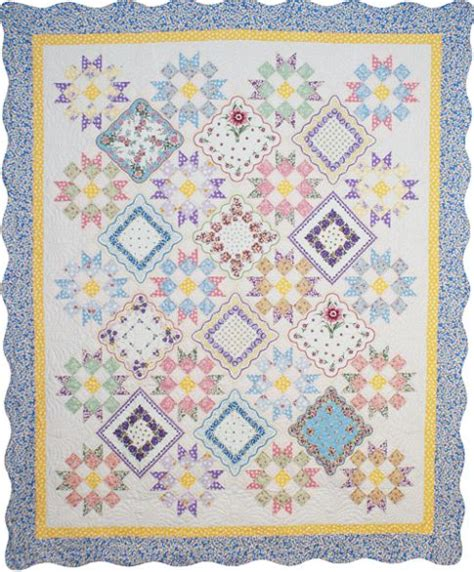 Handkerchief Quilt Pattern by Hankie Quilts On Handkerchiefs Quilts And