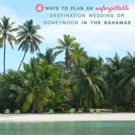 How to Plan an Unforgettable Bahamas Destination Wedding