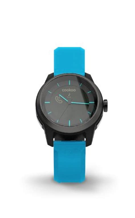Cookoo Blue cookoo smart bluetooth connected blue wearable