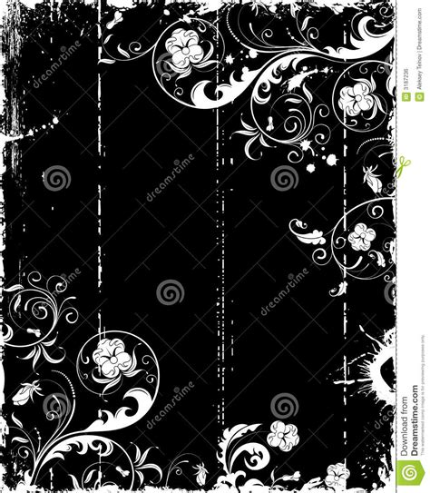 grunge floral frame background royalty free stock images grunge flower frame royalty free stock image image 3187236