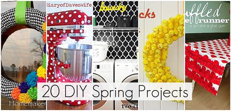 spring diy projects 21 spring projects to make this weekend