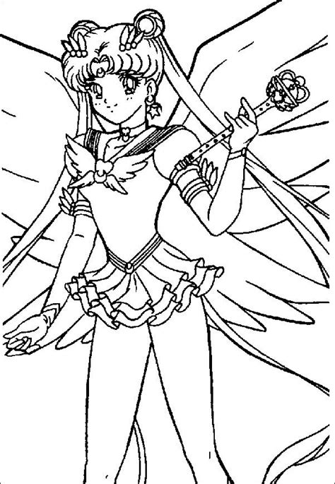 Coloring Pages Sailor Moon Picture 135 Sailor Moon Princess Serenity Coloring Pages Free Coloring Sheets