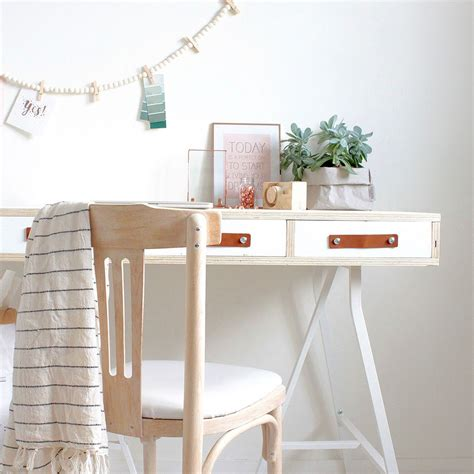 buro zelf maken een nieuwe werkplek nodig dit bureau maak je zelf stek