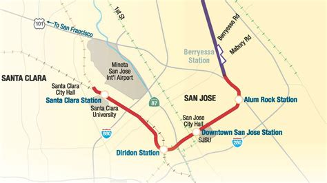 san jose air quality map transportica vta wins 20 million grant for bart phase ii