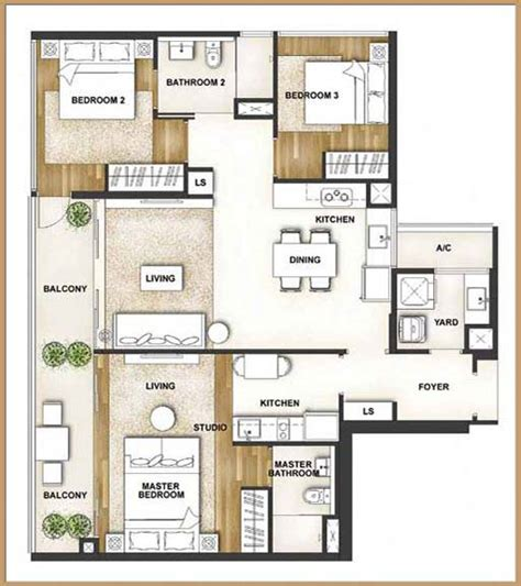 Courtyard Apartment Floor Plans Eight Courtyards Floor Plan Singapore Condo For Sale