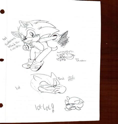 doodle 4 sign up sheet sonikku random doodle sheet 01 by dannyrosehedgewolf on