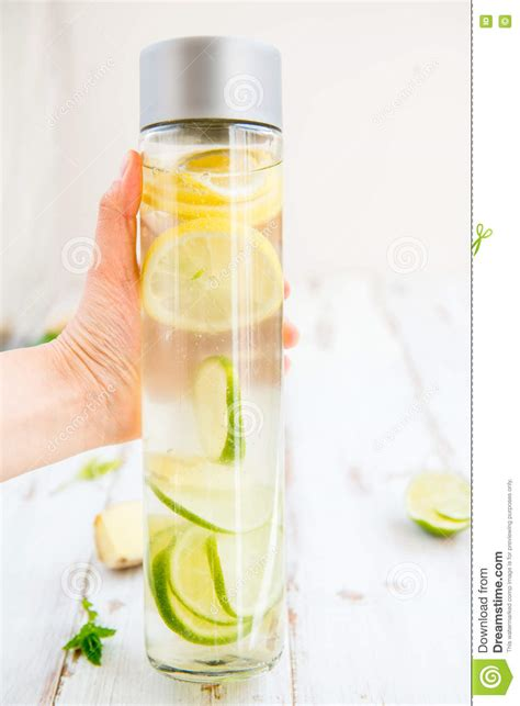 Lemon And Lime In Water Detox by Detox Infused Water With Lemon Lime Lemonade