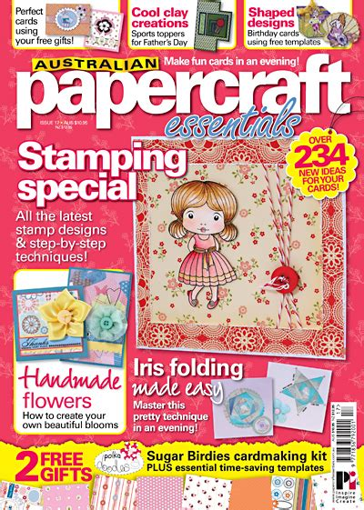 Australian Papercraft Essentials - melzcardz australian papercraft essentials issue 17
