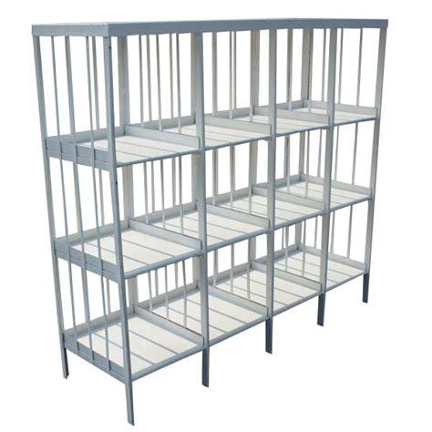 White Metal Shelf by 58 Quot Vintage Industrial White Metal Shelf Unit Dresser Ebay