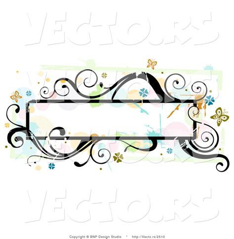 frame design high resolution vector of grungy long background frame with splatters