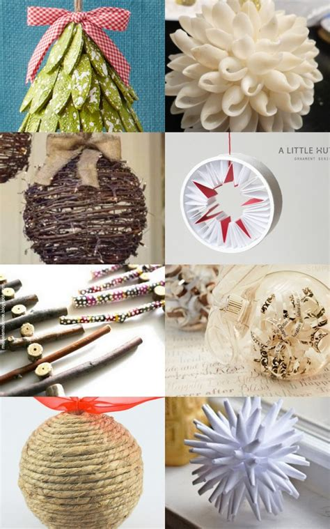 home made christmas decorations diy christmas ornaments sawdust paper scraps