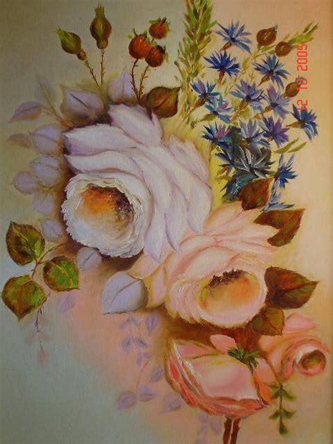 imagenes de flores pintadas al oleo rosas pintadas al oleo imagui