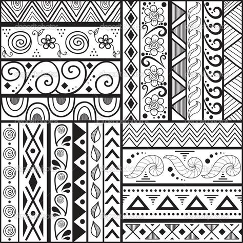 simple drawing patterns drawn design design pattern pencil and in color drawn