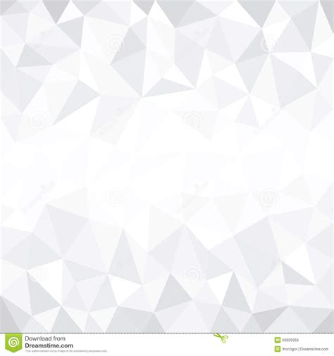 White Low Poly grey low poly background stock vector illustration of