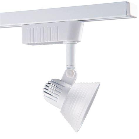 plug in track lighting hton bay 3 light white plug in track lighting fixture