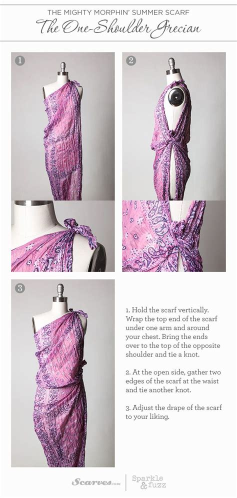 printable instructions to tie a scarf the 25 best ideas about sarong tying on pinterest