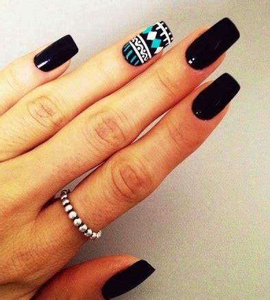 imágenes de uñas negras decoradas dise 241 os de u 241 as largas decoradas para manos mejores