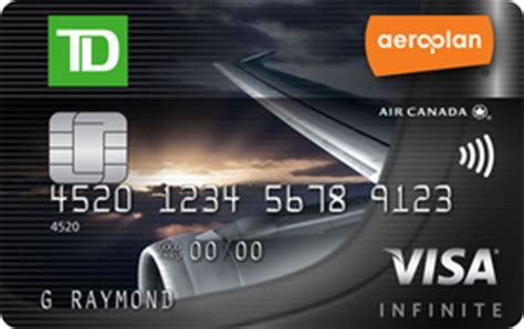 Sle Credit Card Number Canada Carte Visa Infinite Tdmd A 233 Roplanmd Td Canada Trust