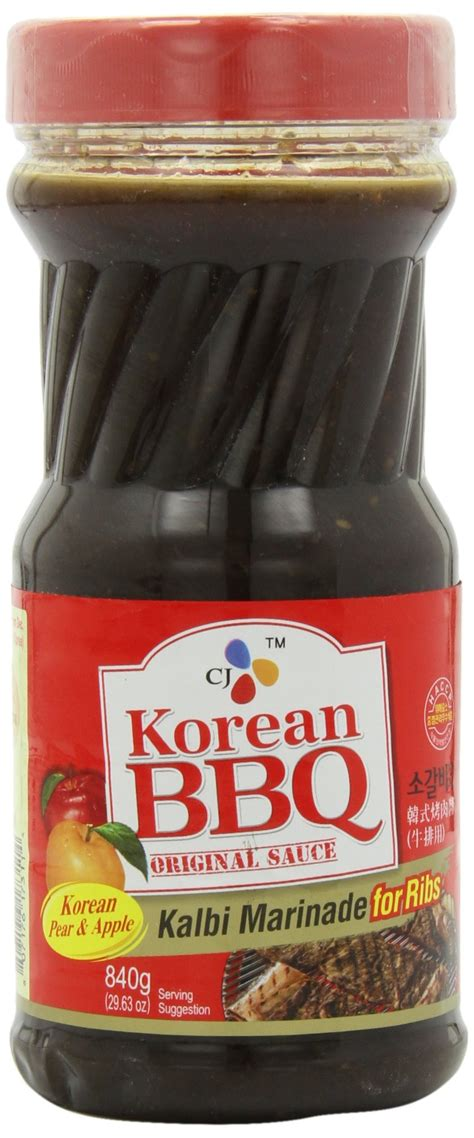 Cj Beef Bulgogi Marinade Bbq Sauce Beef cj bulgogi marinade korean bbq sauce 29 63 ounce bottles pack of 4 marinades