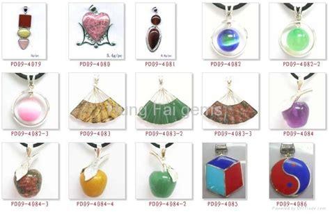 Golden Citrine Quartz Memo silver gemstone necklace pendent china manufacturer