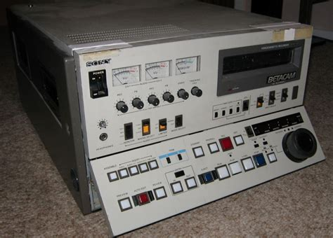 sony bvw 40 equipment collection oldvcr