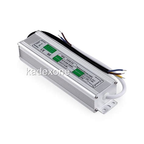 Led Driver 12v waterproof led driver 12 v volt ip67 power supply transformer 10 w 200 watt ebay
