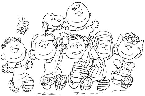 Snoopy Coloring Pages To Print