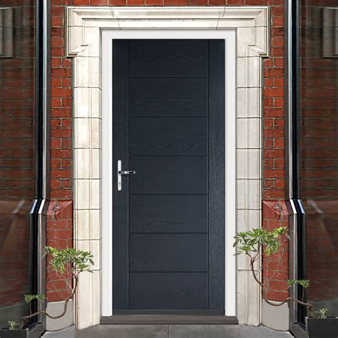 Composit Front Doors Grp Grey Modica Composite Door Composite Doors