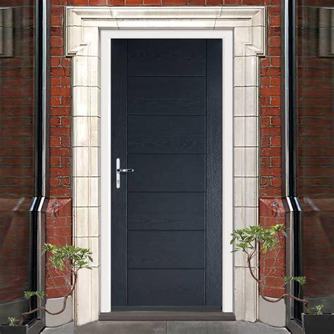 Buy Composite Front Door Grp Grey Modica Composite Door Composite Doors