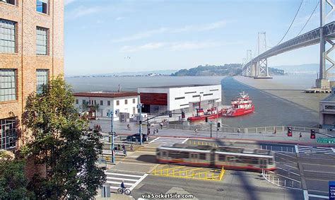 fireboat station floating fire station closer to reality on san francisco s