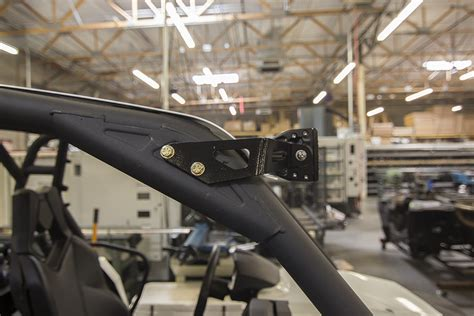 can am commander led light bar utv inc 40 quot light bar mounts that work with roof installed