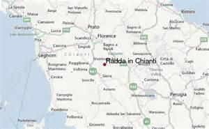 Chianti Italy Map by Radda In Chianti Location Guide