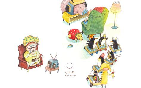 themes of cartoons for windows 7 windows 7 theme cartoon characters wallpaper huang yun