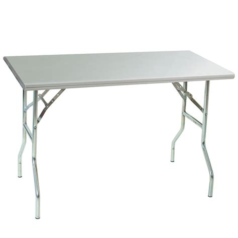 Stainless Steel Folding Table Eagle T3072f Stainless Steel Folding Table 30in X 72in