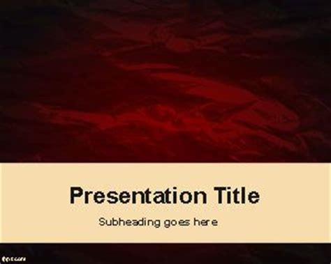 scary powerpoint templates