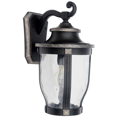 home decorators outdoor lighting home decorators collection mccarthy 1 light bronze outdoor