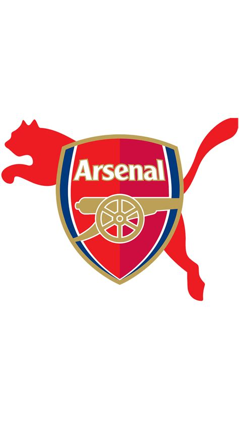 arsenal logo hd wallpaper  mobile wallpaperwiki