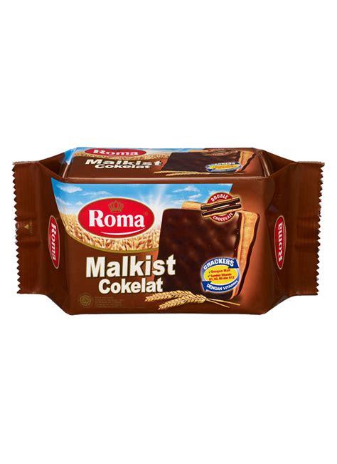 Roma Malkist Crackers 135 Gram roma crackers malkist cokelat pck 120g klikindomaret