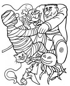 adults halloween coloring pages scary halloween coloring pages adults kids coloring pages