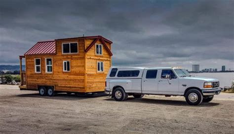 towing a tiny house how to towing a tiny house simply safely tiny spaces