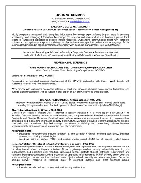 resume security resume examples and samples