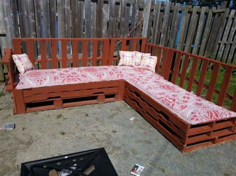 outdoor sofa made from pallets tired of those intimidating furniture why don t you try