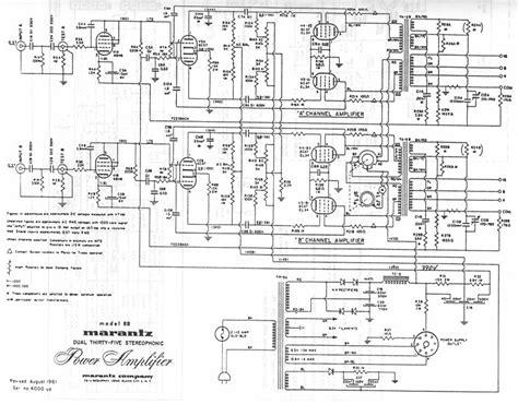 Power Audio 4 Channel Cello Ca 30 index of schematics by brand marantz